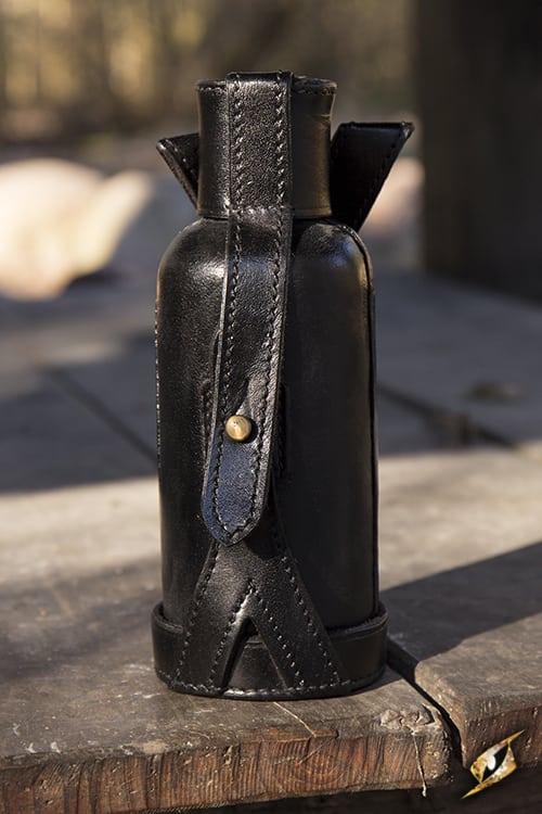 Bottle Bag 600ml inc  Bottle - Black
